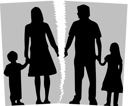 Rozwód, alimenty, władzę rodzicielską i kontakty dzieckiem